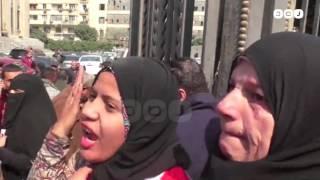 رصد | هتافات أهالي الشهداء بعد محاكمة المتهمين في أحداث بورسعيد