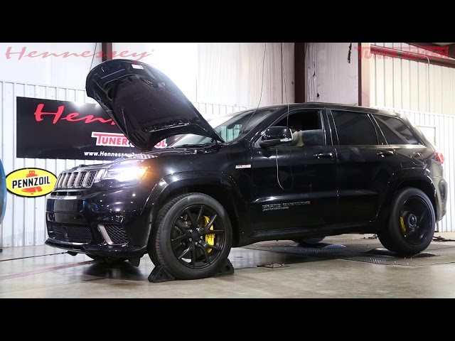 850 HP Hennessey Jeep Trackhawk Is Almost A 10-Second    SUV