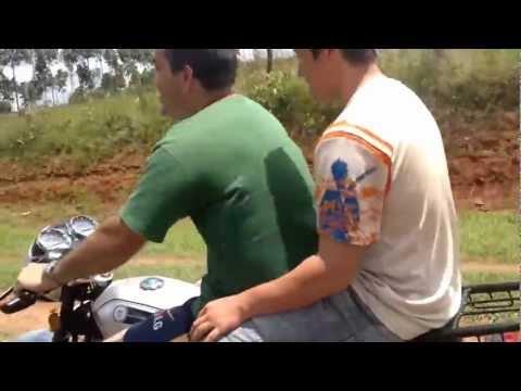 En moto desde Abaí a San Juan Nepomuceno, Paraguay
