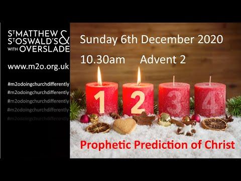 10.30 Service 5 December Advent 2