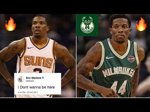 Eric Bledsoe Wants Out of Phoenix Suns | Trade To Milwaukee Bucks? | Duo with Giannis Antetokounmpo!