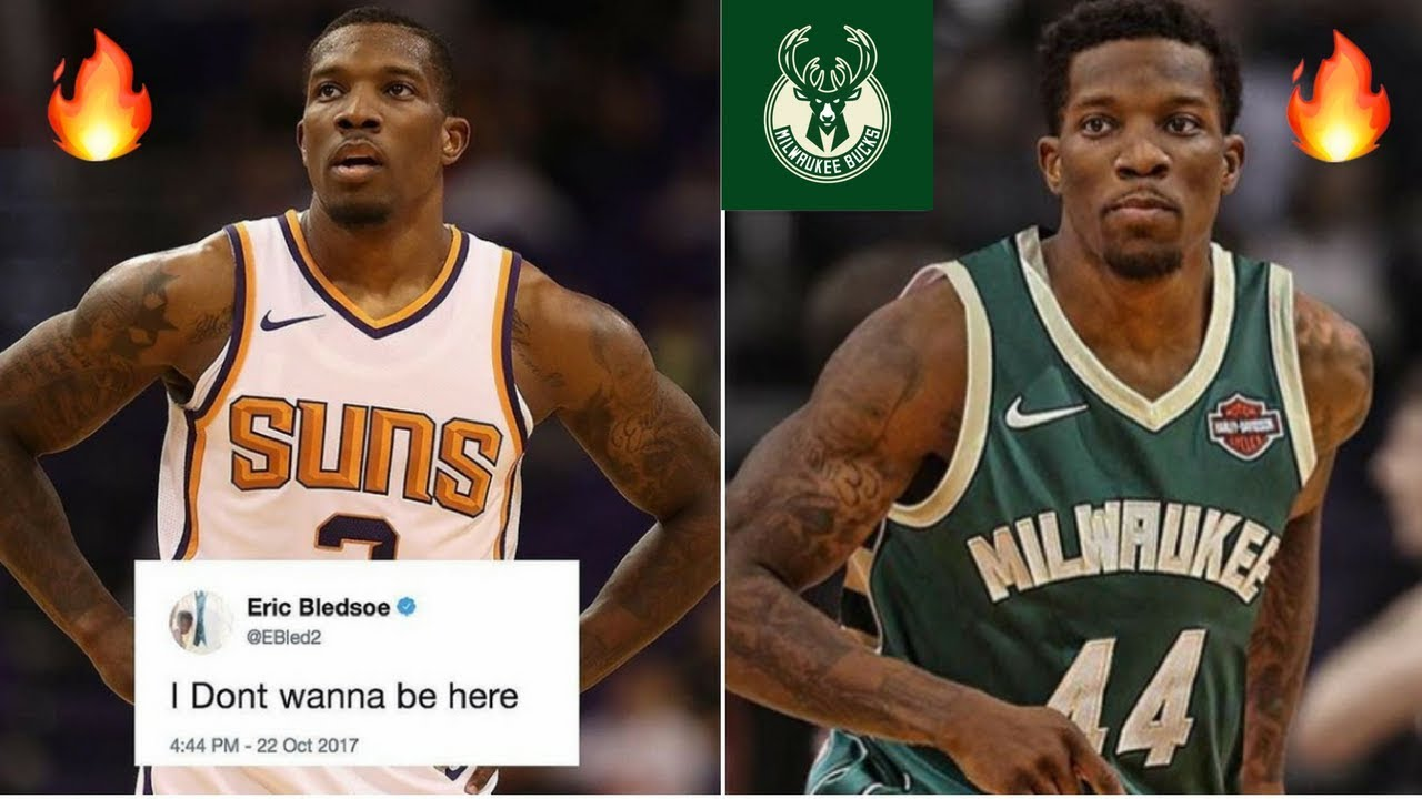 check out e4445 47c3a Eric Bledsoe Wants Out of Phoenix Suns | Trade To Milwaukee Bucks? | Duo  with Giannis Antetokounmpo!