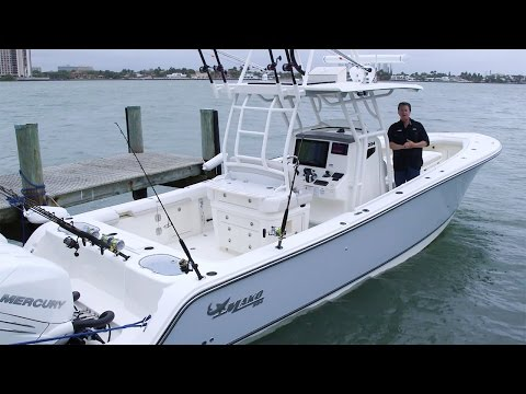 MAKO Boats: 334 CC Walk Around Review with George Poveromo