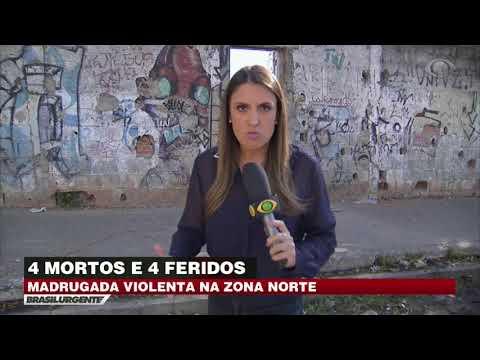 Chacina deixa 4 mortos na Zona Norte de SP