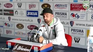 Genchi commenta la gara Taranto-Monopoli