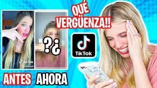 IMITO Y REACCIONO A MIS TIK TOKS ANTIGUOS!! (IMITANDO y REACCIONANDO a TIK TOKS) | Laia Oli