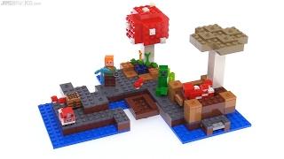 LEGO Minecraft The Mushroom Island review