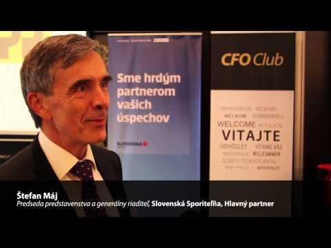 Štefan Máj Interview časť 2 | CFO Fórum Slovensko 2014, Bratislava