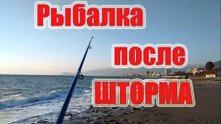 Рыбалка в Средиземном море Февраль в Турции