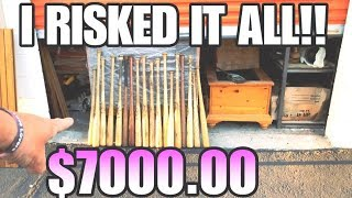I RISKED IT ALL! $7000 1 unit STORAGE WARS STYLE! I bought an abandoned storage unit