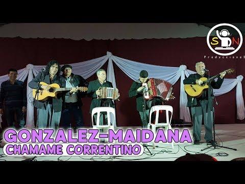DÚO GONZALEZ-MAIDANA - CHAMAME EN VIVO