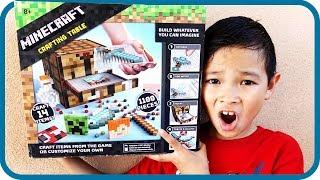MINECRAFT Toys Hunt at Shopping Mall #1, Crafting Table by Mojang & Mattel - TigerBox HD