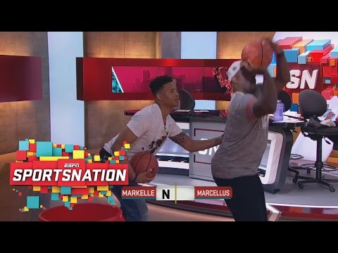 Markelle Fultz Goes One-On-One With Marcellus Wiley | SportsNation | ESPN