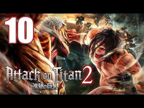 Attack on Titan 2 - Gameplay Walkthrough Part 10: The Scout Regiment