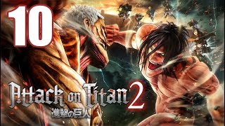 Attack on Titan 2 - Gameplay Walkthrough Part 10: The Scout Regiment