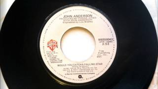 Would You Catch A Falling Star , John Anderson , 1982 Vinyl 45RPM
