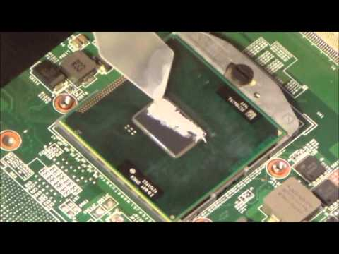 Compaq Presario CQ57 Thermal Compound Replacment and Cooling Fan Inspection/Cleaning