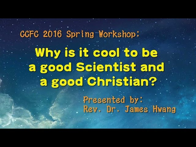 Why is it cool to be a good Scientist and a good Christian ?