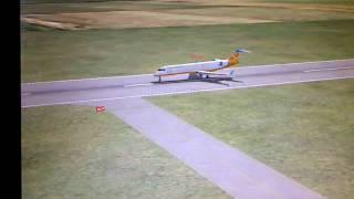 landing in Anguilla