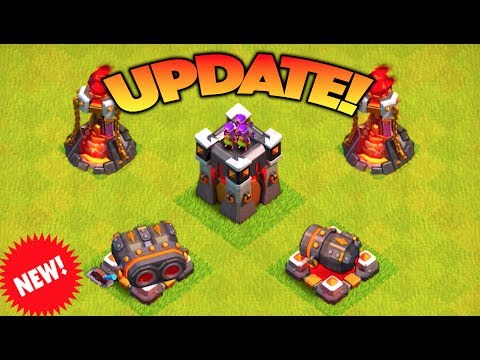 NEW CLASH OF CLANS UPDATE ON THE WAY! THIS IS WHY I CAN NEVER MAX MY BASE OUT..