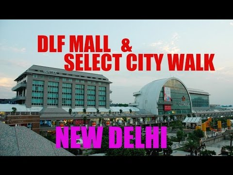Select City Walk and DLF Mall Walking tour POV | New Delhi