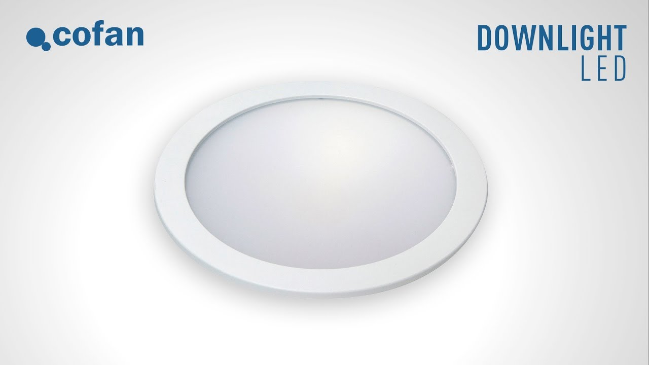 Tutorial Como Cambiar E Instalar Un Downlight Led Youtube