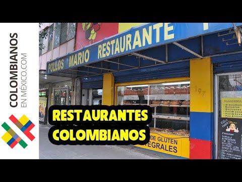Restaurantes colombianos Colonia Roma - Parte I