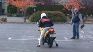 Washington State Motorcycle Driver License Skills Test