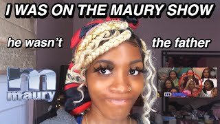 Storytime: I WAS ON THE MAURY SHOW!