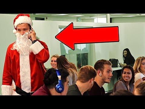 Santa Claus Embarrassing Phone Calls PRANK!