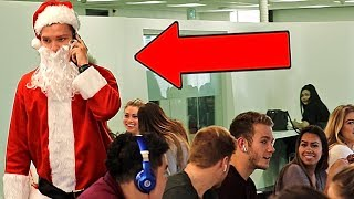 Santa Claus Embarrassing Phone Calls PRANK!