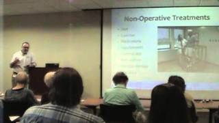 "2014 Orthopedic Education Day: ""Total Hip & Knee Replacement"" by Dr. Patrick Hurley"