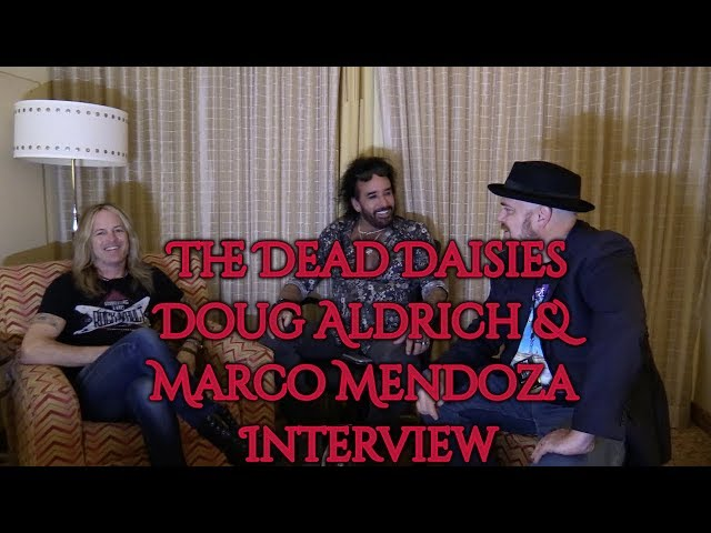 Doug Aldrich and Marco Mendoza recount joining Whitesnake and The Dead Daisies