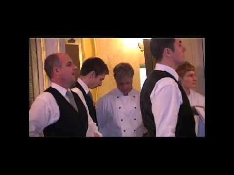Goodwood House Waiting Staff (The task of the biscuits & just one more job)