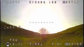 Cicada 180 review: FPV test | FirstQuadcopter.com