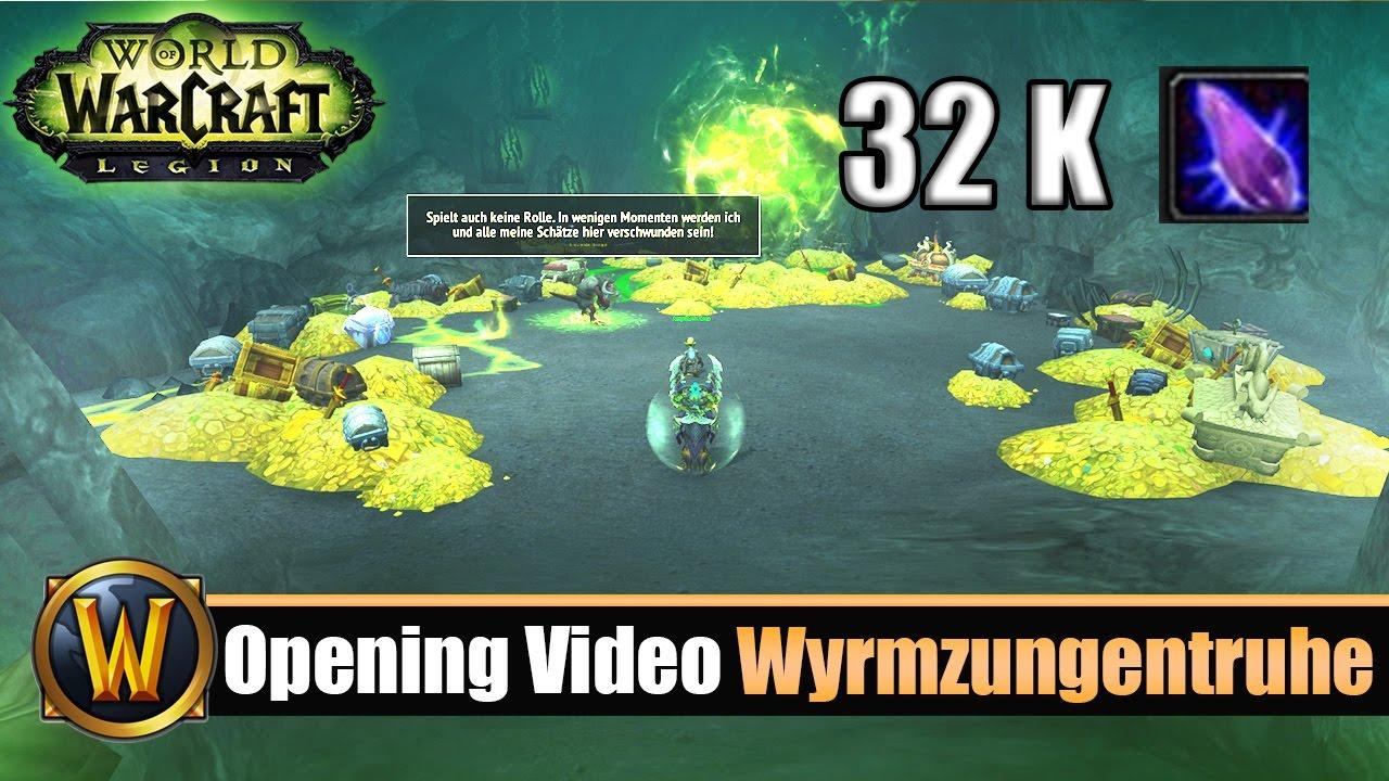 Wow Opening Video Wyrmzungentruhen 2 32k Nethersplitter Youtube