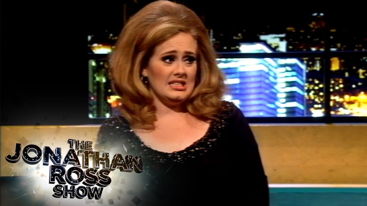 Adele's Wild Tour Story In Las Vegas   The Jonathan Ross Show