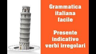 Repeat youtube video Grammatica italiana - Presente indicativo - verbi irregolari