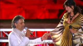 Andrea Bocelli and Laura Pausini Dare To Live