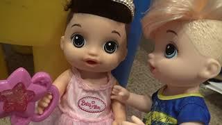 Baby Alives Nico & Ricky Dare Off! | Kelli Maple