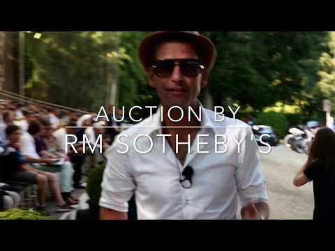 Alexander Lux -ENGL SUBTITLES-Villa d'Este - Auction by RM Sotheby's at the Concorso d'Eleganza 2017