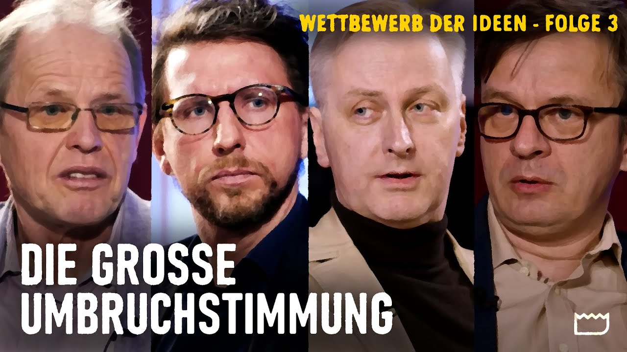 Die große Umbruchstimmung – Carlos Gebauer, Norbert Häring und Matthias Burchardt