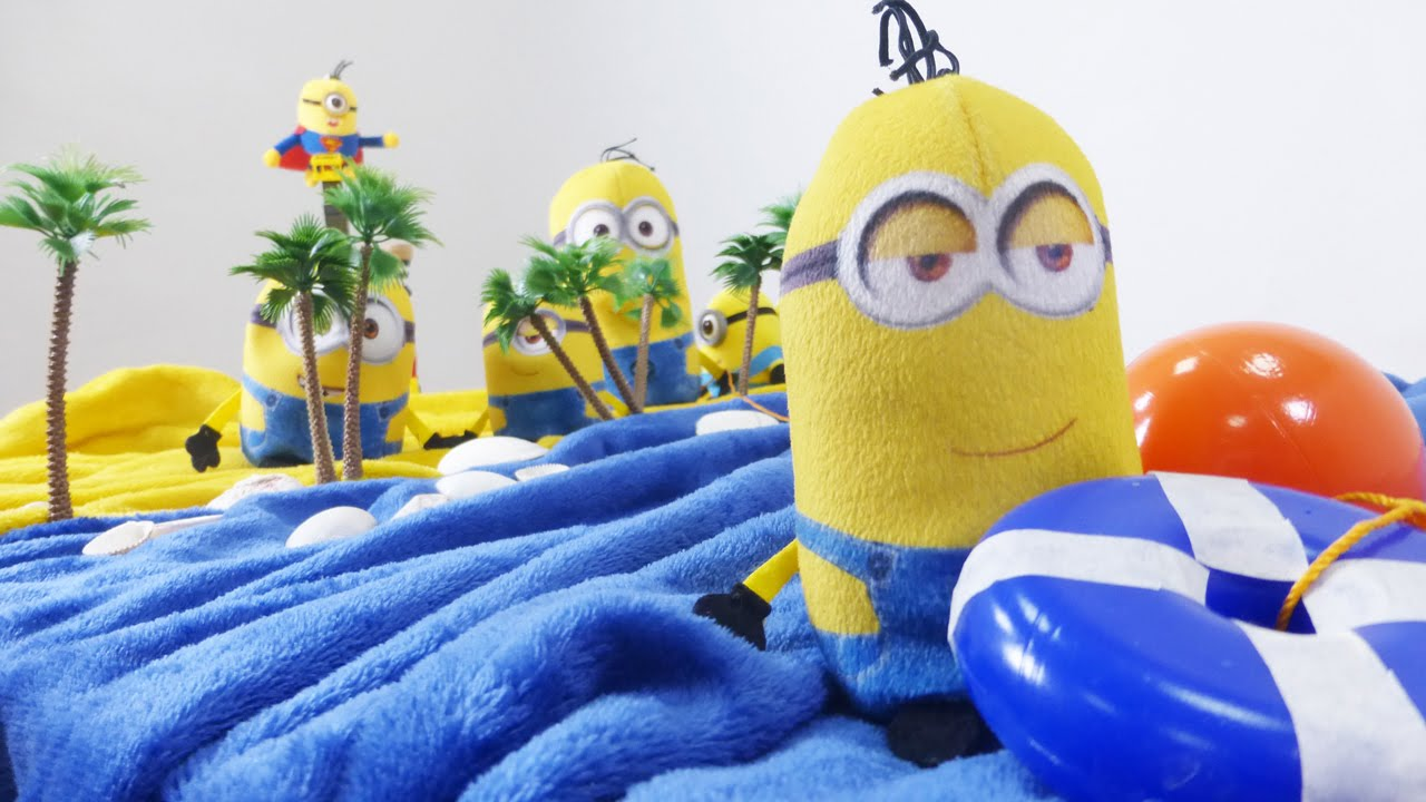 minions und der bananenstreik lustiges video mit. Black Bedroom Furniture Sets. Home Design Ideas