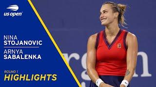 Nina Stojanovic vs Aryna Sabalenka Highlights