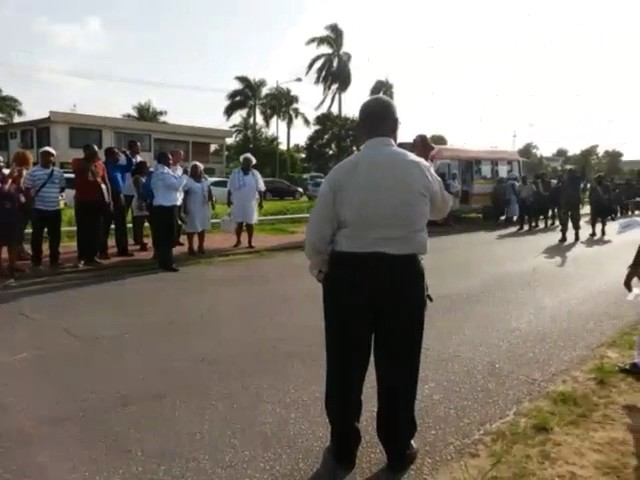 Militaire begrafenis Suriname
