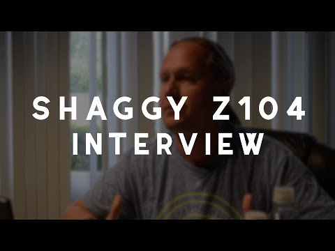 Interview with z104's Shaggy
