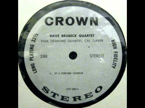 Dave Brubeck: At A Purfume Counter (Crown Records)