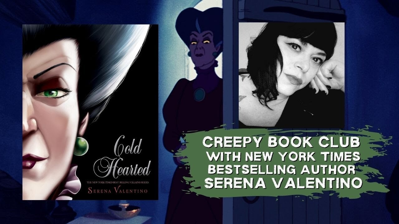 Serena Valentino's 'Cold Hearted' Release Day - Creepy Book Club - Disney Villains Series