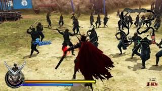 Sengoku Basara: Samurai Heroes (PS3) BASARA Arts