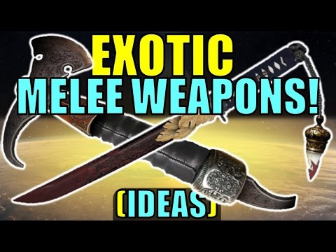 destiny melee weapons - photo #20